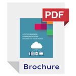 VoIP Phone offer hosted VoIP Brochure