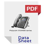 VoIP Phone offer Polycom VVX400 series